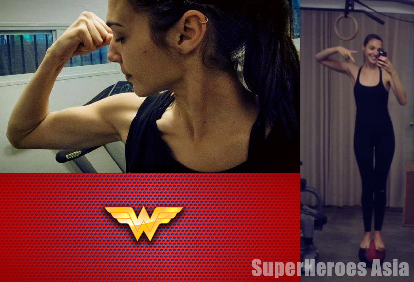 Superheroes Asia Gal Gadot Wonder Woman Costume Revealed